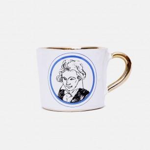 德国手工复古马克杯 贝多芬 | 巴洛克的奢华带进日常生活