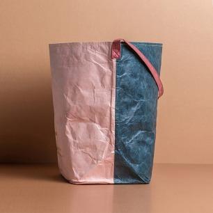 复古拼色杜邦纸收纳袋 | 轻松收纳可折叠 防水耐用