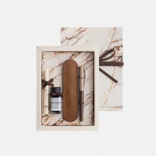 城市系列巴黎钢笔礼盒 | 咖啡棕的法式浪漫