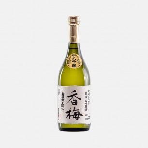 日本香梅纯米大吟酿清酒   优选山泉水与酒米之王酿造