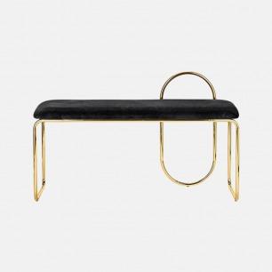复古丝绒椅凳 简约线条感   舒适优雅设计 多款可选