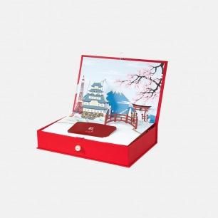 耀白礼盒   立体樱花创意设计,赋活新生