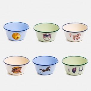 复古搪瓷碗 | TOILETPAPER系列