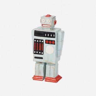 Harbor House 木质机器人摆件 儿童玩具