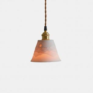 群山叠影吊灯 | 造型简约小众高颜值灯饰