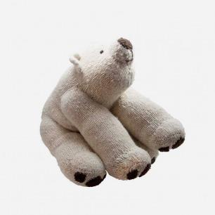 Kenana Knitters ウールのぬいぐるみ 特大ホッキョクグマ : CIBONE