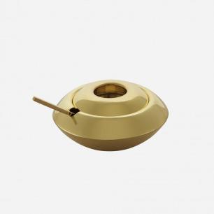 黄铜调料罐 | 英国鬼才设计师的生活美学