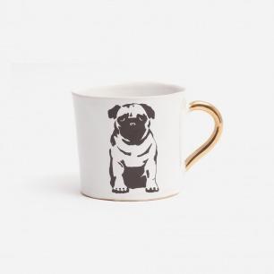 八哥犬咖啡杯【大号】