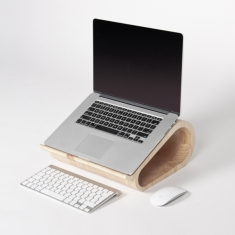 Vool. The Wooden Laptop Stand / macbook 木质支架