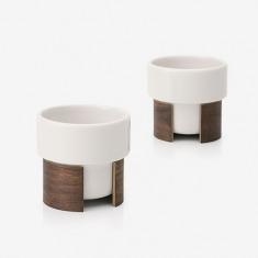 芬兰Tonfisk Espresso咖啡对杯