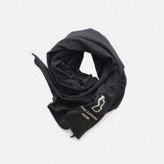 宽幅全棉围巾 碳黑