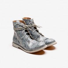 KINKLE WORKSHOP植鞣牛皮绑带皮靴