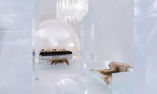 Ice Hotel/这家用冰建成的酒店25周岁了