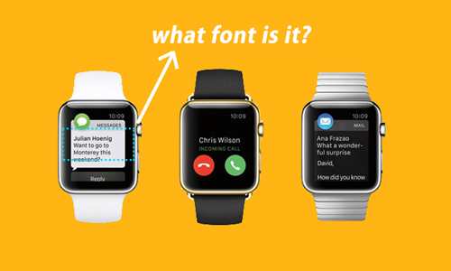 Apple's Font/苹果的新字体