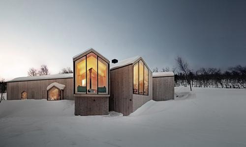Wooden House/3座北欧严寒中的温暖木屋