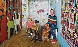 Artist & Home/涂鸦艺术家们的居所到底长什么样