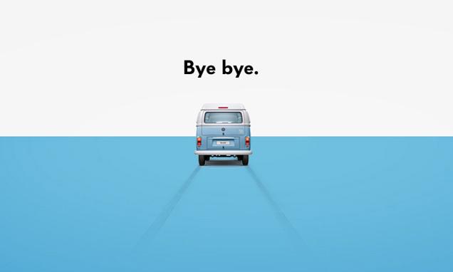 ICON/Bye bye!最可爱的面包车!