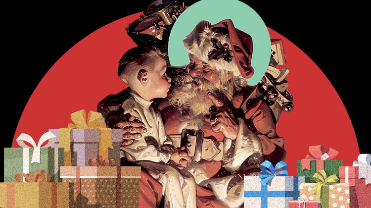 圣诞老人往袜子里装什么?/圣诞老人往袜子里装什么?