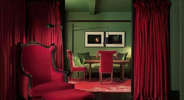 上哪儿去找这么雅致的红配绿?/上哪儿去找这么雅致的红配绿?