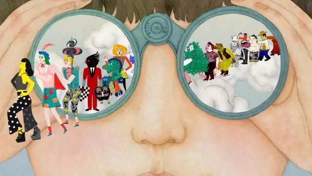 伊势丹X全球艺术家的50枚动画/伊势丹X全球艺术家的50枚动画
