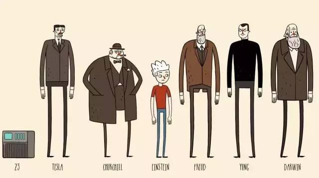 """爱因斯坦和达尔文变身""""超级英雄"""" /爱因斯坦和达尔文变身""""超级英雄"""""""