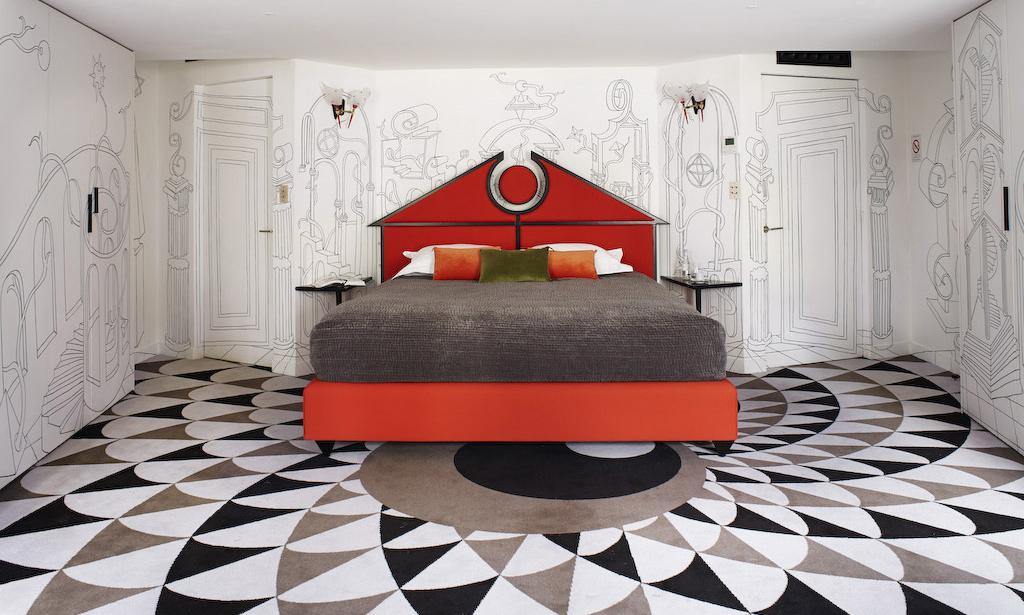 """老佛爷""""前任""""助理设计了一家超现实酒店,惊艳!/老佛爷前任助理设计了一家超现酒店"""