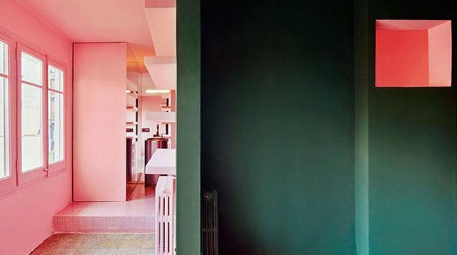 看巴塞罗纳的住宅如何玩撞色/看巴塞罗纳的住宅如何玩撞色