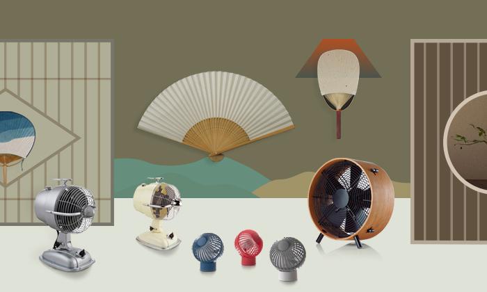 高颜值的纸扇、电扇集合,诗意夏日必备/高颜值的纸扇、电扇,诗意夏日必备