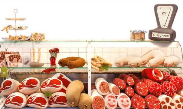 """素食主义者所开的""""肉品店""""长什么样?/素食主义者所开的""""肉品店""""长什么"""
