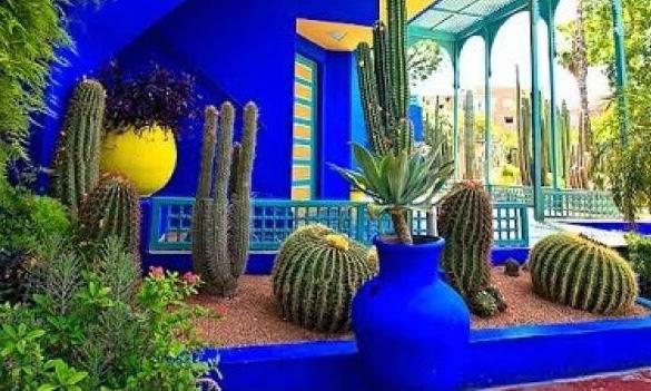 """世界上还有一种经典的蓝色叫""""摩洛哥蓝""""/世界上还有一种蓝色叫""""摩洛哥蓝"""""""