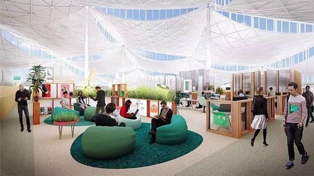 硅谷科技巨头的办公楼有什么不一样?/硅谷科技巨头的办公楼有什么不一样