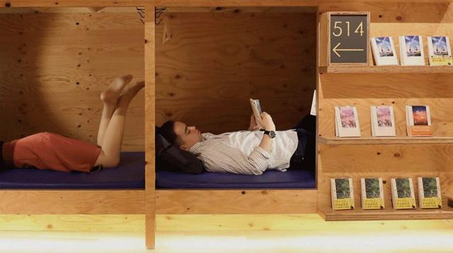 茑屋书店开了个时钟酒店,最低只要29元(500円)/茑屋书店开了个时钟酒店,最低只要