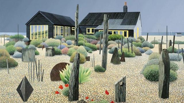 海边静谧小花园,分享给周一躁郁的你/海边静谧小花园,分享给周一躁郁的