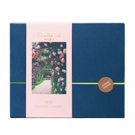 颜色/花园香氛墨水礼盒