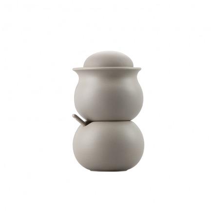 颜色/暖灰色糖奶罐