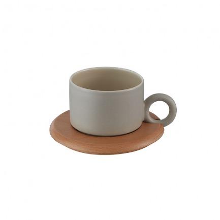 颜色/暖灰色咖啡杯