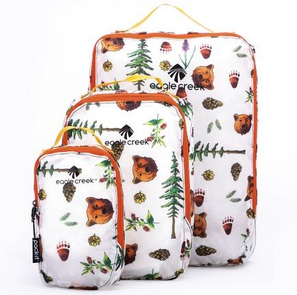 颜色/白色金州印花单面衣物打理袋(3件套)