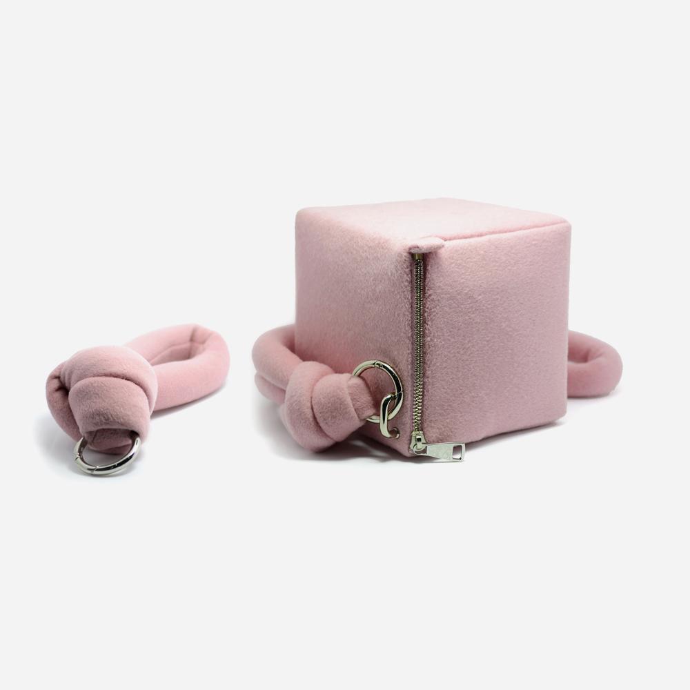 时尚立方体手包 轻巧可爱 | 精致手作 羊毛奢华质感