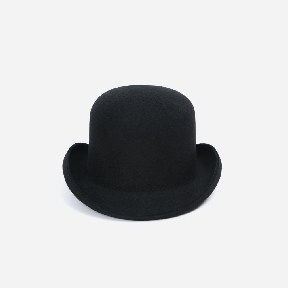Black Sails 手工羊毛圆顶卷檐礼帽