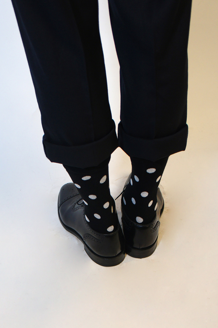 时尚黑白男袜套装 A款 | 优质精梳棉制作 舒适好看