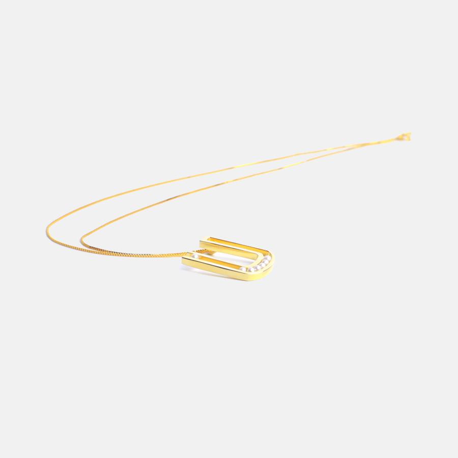 逃脱系列 海水小珍珠U形项链