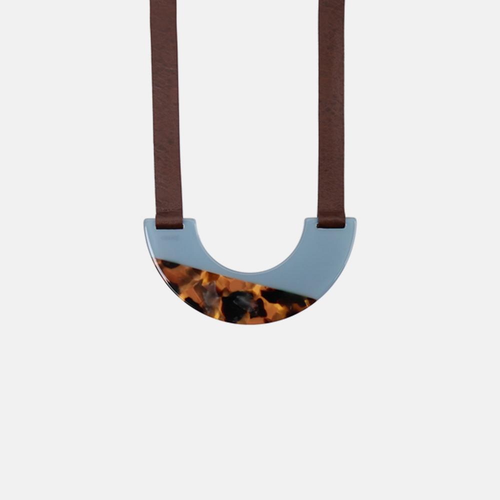 Dolce-水蓝玳项链