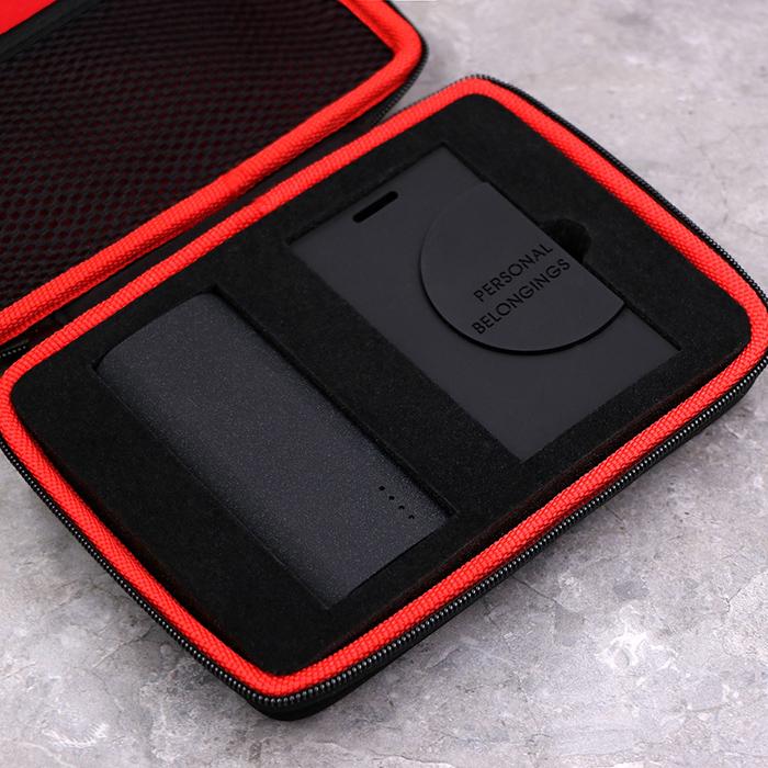 航旅必备 TAKE YOU HOME 旅行充电宝 两用数据线 行李牌套装
