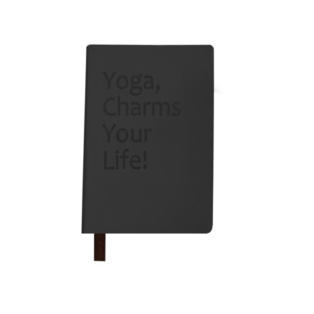 瑜伽修炼手册笔记本 | 独家设计的瑜伽主题插画