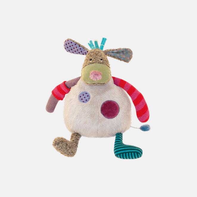 音乐小狗玩偶 | 丑得可爱系列 超细纤维制成