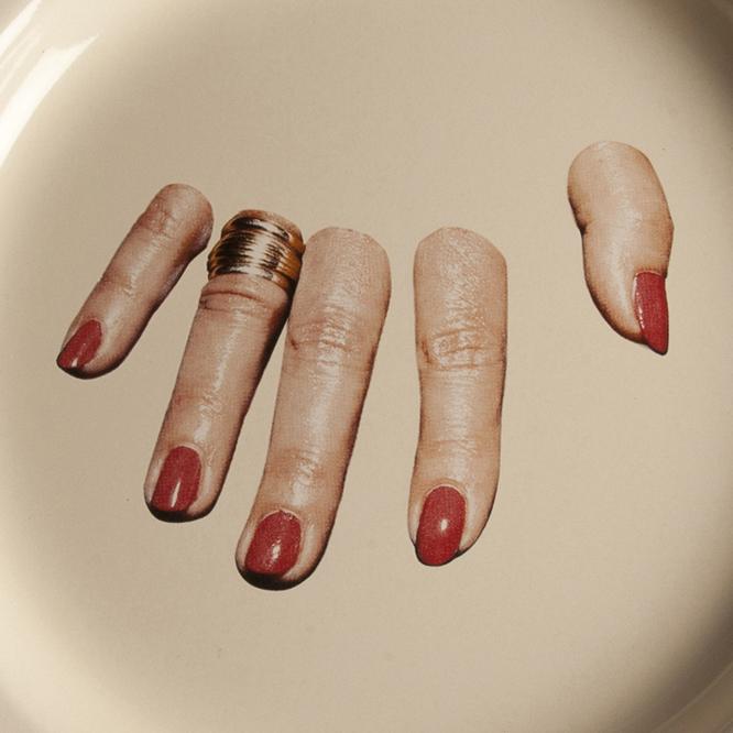 Toiletpaper系列 手指 餐盘