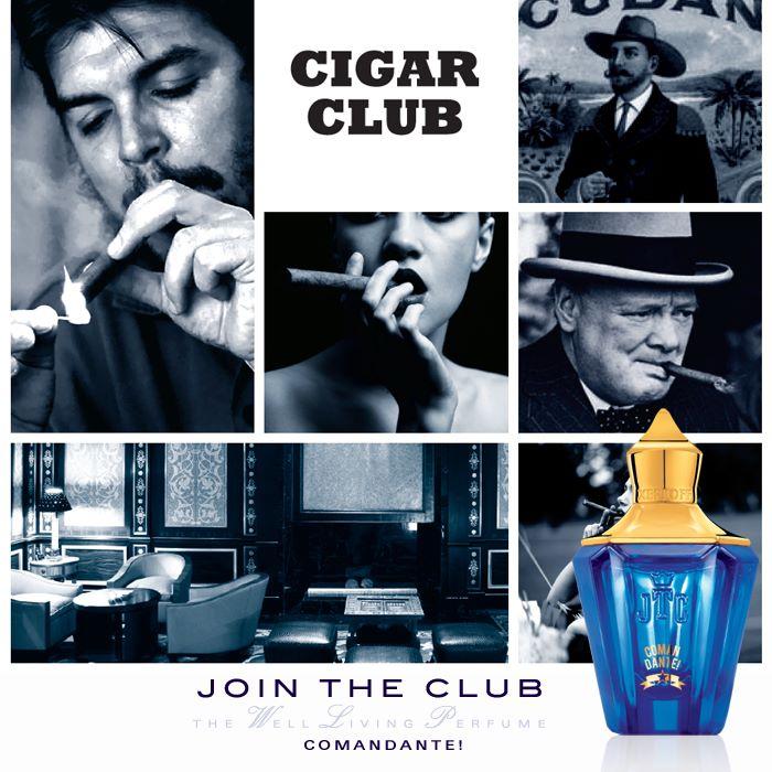 """""""雪茄俱乐部""""香氛"""
