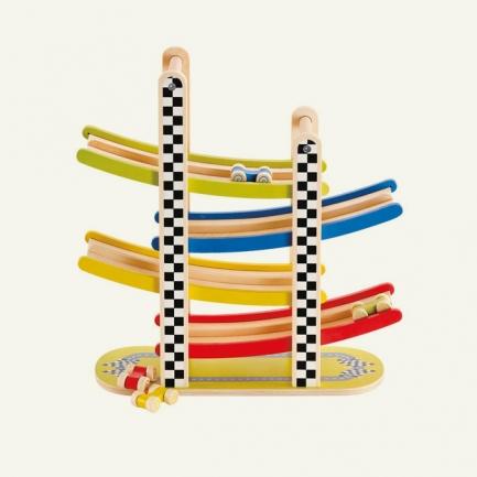 Hape轨道滑车玩具
