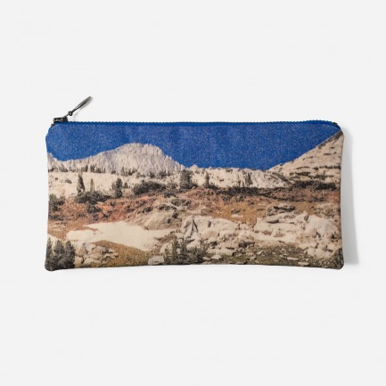 新罕布什尔风景图案零钱包化妆包(四色)