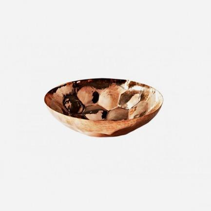 手工捏制的黄铜盘-六边形 | 英国鬼才设计师的生活美学